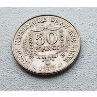 Западная Африка 50 франков, 1975 7-7-40