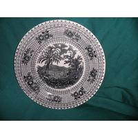 С 1 рубля.Тарелка ,Англия фирма w smith & Co , материал фарфор диаметр 23,5 см.