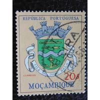 Португальская колония Мозамбик. Герб. 1961г.