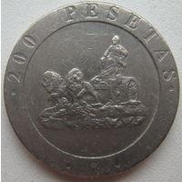 Испания 200 песет 1990 г.