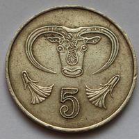 Кипр, 5 центов 1985 г