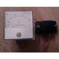 Амперметр Т216   с термопреобразователем  ТП-Т1   1981 год