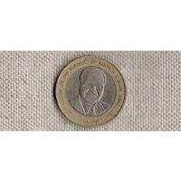 Кения 40 шиллингов 2003/биметалл/(Li)