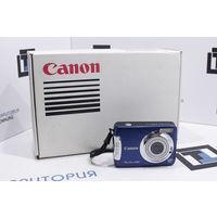 Синая компакт-камера Canon PowerShot A480 (10Мп, zoom 3.3X). Гарантия