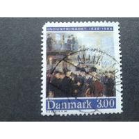 Дания 1988 индустриализация в живописи