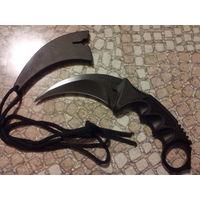 Нож Карамбит. Черное лезвие. В наличии.