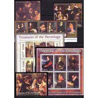 Сент-Винсент и Гренадины 2003 искусство живопись Эрмитаж