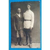 Фото мужчины и женшины. 8.5х14 см.
