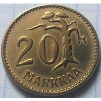 Финляндия 20 марок, 1957          ( 6-8-4 )