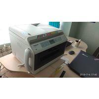 МФУ лазерное Panasonic KX MB2170 4в1 (принтер, сканер, факс, ксерокс) Заправленный сменный тонер в подарок!