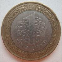 Турция 1 лира 2014 г. (g)