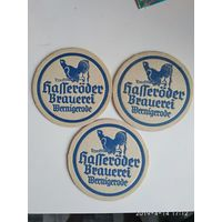 Подставка под пиво ГДР 80е годы