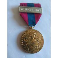 Медаль за службу в горных войсках. Франция
