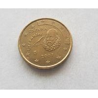 10 евроцентов 2007 Испания