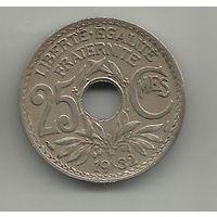 ФРАНЦУЗСКАЯ РЕСПУБЛИКА . 25 САНТИМОВ 1932