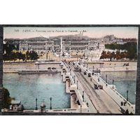 Старинная открытка. Париж (38). Подписана