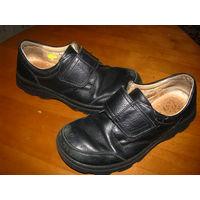 Ботинки кожа р-р 33