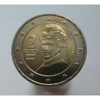 2 евро 2008 Австрия UNC
