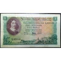 ЮАР, 5 фунтов 1959 год, Р96