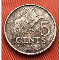124-03 Тринидад и Тобаго, 5 центов 1976 г.