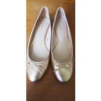 Балетки на каблуке  Mango 39 размер
