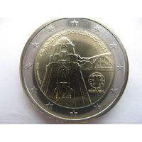 Португалия 2 евро 2013 г. 250 лет башне Клеригуш. (юбилейная) UNC!