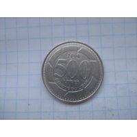 Ливан 500 ливров 2000г.km39