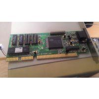 Ретро ISA видеокарта Cirrus Logic GD5402 512 Kb