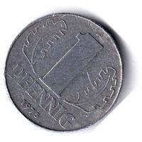 ГДР. 1 пфенниг. 1975 г.