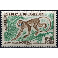 Камерун, 1962 год** Фауна. Обезьяна