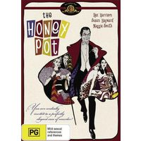Горшок меда / The Honey Pot (Рекс Харрисон,Мэгги Смит) DVD9