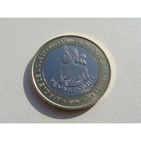 """Того. 6000 франков 2003 год  X#21  """"Гвинейская женщина"""""""