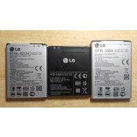 Аккумуляторы для телефонов LG оригинальные, б/у