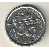Фиджи 50 цент 2013 Паралимпиада 2012 - Илиеза Делана