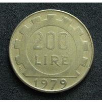 Италия 200 лир 1979