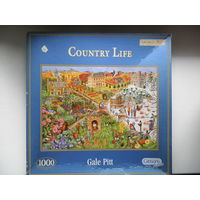 Пазл Country Life by Gale Pitt, 1000, UK, б/у