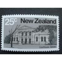 Новая Зеландия 1980 здание