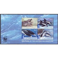 Австралия Панда WWF дельфины