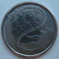 Канада 10 центов 2001 г. Международный год волонтера