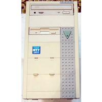 Ретро! Рабочий системный блок на чипсете Ali M1621 (Aladdin-Pro 2)