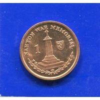 Остров Мэн 1 пенни 2004 , EF