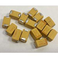 D 33 мкф - 35 В ((( цена за 10 штук))) Танталовые электролитические конденсаторы чипы смд. Тантал
