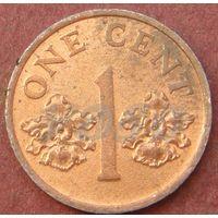 6119:  1 цент 1995 Сингапур