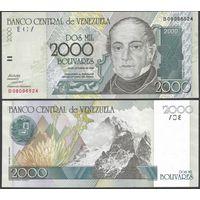 Венесуэла 2000 боливаров образца 1998 года UNC p80