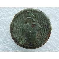 Пуговица офицера Франции батальона сапёров образца 1803 года ВА