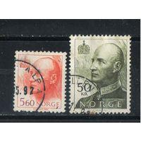 Норвегия 1992 Харальд V Стандарт #1066,1100