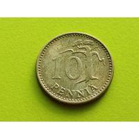 Финляндия. 10 пенни 1980.