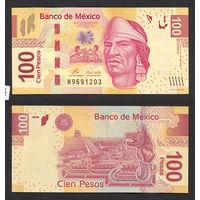 Распродажа коллекции. Мексика. 100 песо 2009 года (P-124h - 2004-2017 Issue)