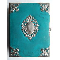 Царский фотоальбом, с позолоченным обрезом, размер 28х22х8