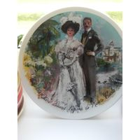 Коллекционная тарелка Лимож